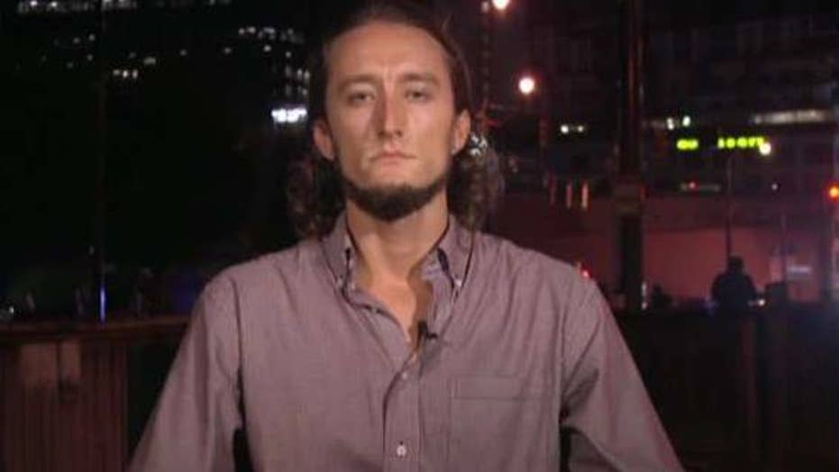 Witness describes shooting of Charlotte protester