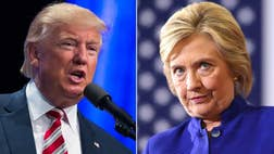 Hillary Clinton campaign officials say she's playing to small rooms by design, to make the events more 'personal' -- but some see a growing enthusiasm gap between her supporters and Donald Trump's.