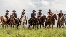Fox411 Movies: 'Rotten Tomatoes' Editor-in-chief Matt Atchity discusses this weekend's movie releases, including 'The Magnificent Seven' and 'Storks'