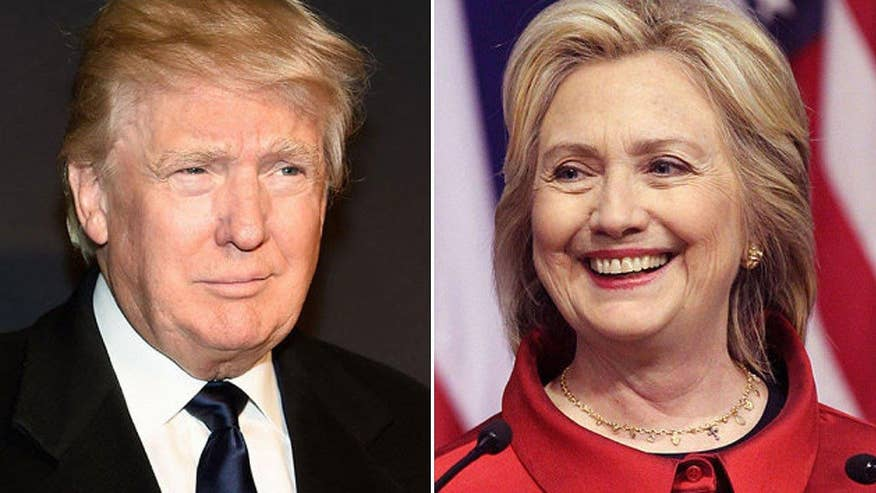 Clinton still holds the edge in swing state polls, but Trump keeping it close. Real Clear Politics' Tom Bevan goes 'On the Record'