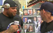Wrestler hits the streets to ask Americans how they feel about the upcoming presidential debate and more