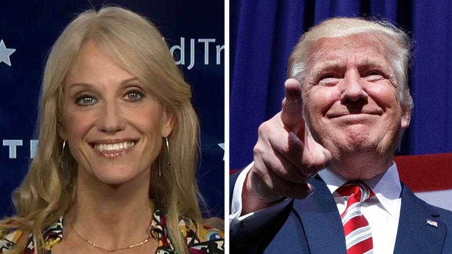 Conway: Trump will convey 'positive optimism' at debate