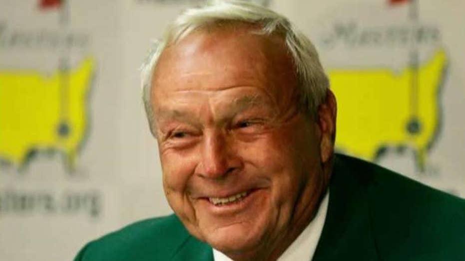 Golf legend Arnold Palmer dies at age 87