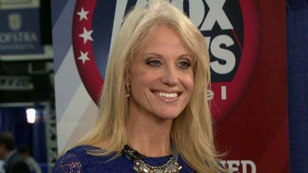 Conway: Trump showed great restraint in the face of lies