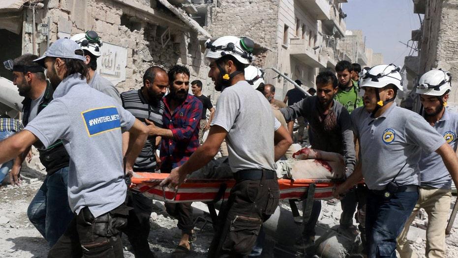 Syrian government airstrike kills nearly two dozen in Aleppo