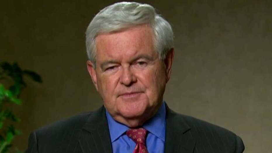 Newt Gingrich: 'Enormous, historic victory' for Donald Trump