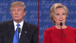 Donald Trump has plenty of material it's easy to show why Hillary Clinton is not fit to be president. We're counting on him for round two.
