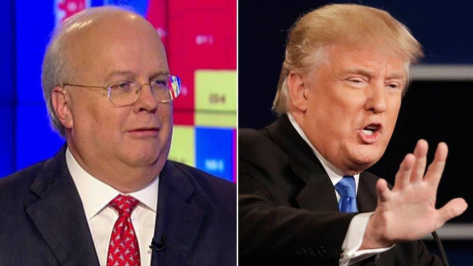 Rove on Trump's debate demeanor: He looked angry, unhappy