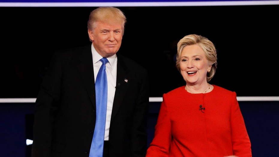 Trump, Clinton spar over fighting ISIS, national security