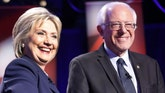 Former presidential rival joins the Democratic nominee on the campaign trail