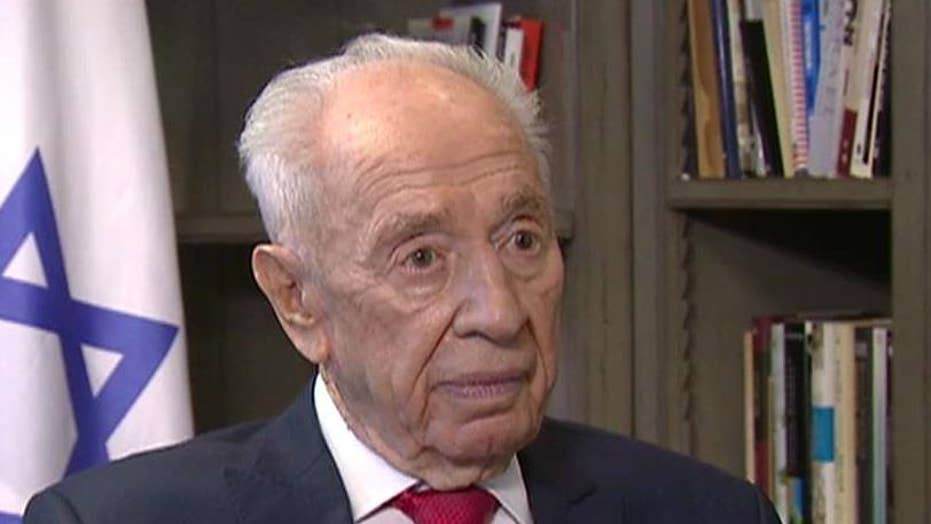 Eric Shawn reports: Shimon Peres