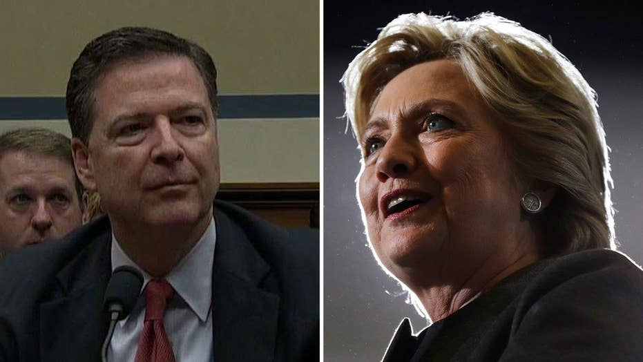 House lawmakers rip into Comey over Clinton decision