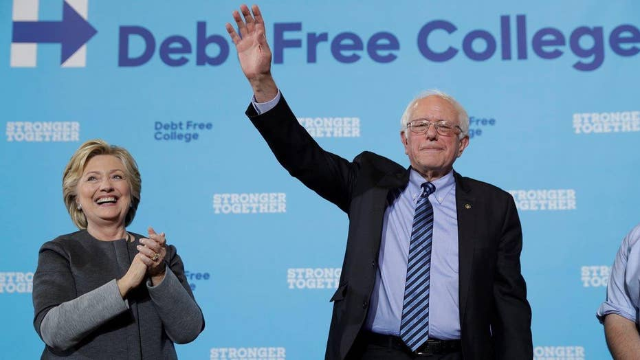 Clinton, Sanders campaign to motivate millennial voters