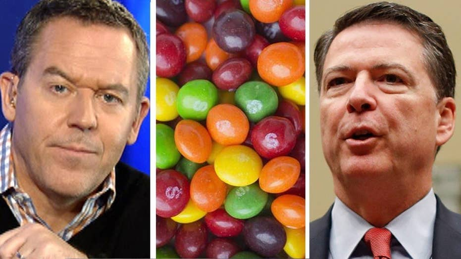 Gutfeld: Comey, ISIS and Skittles