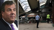 Gov. Christie: Can't speculate on cause of NJ train crash