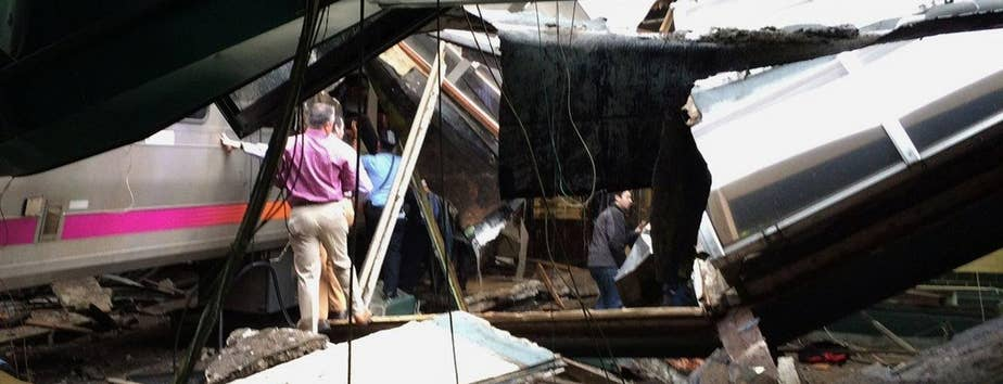 A train packed with commuters failed to stop as it crashed into the station; Rick Leventhal with the details for 'Special Report'