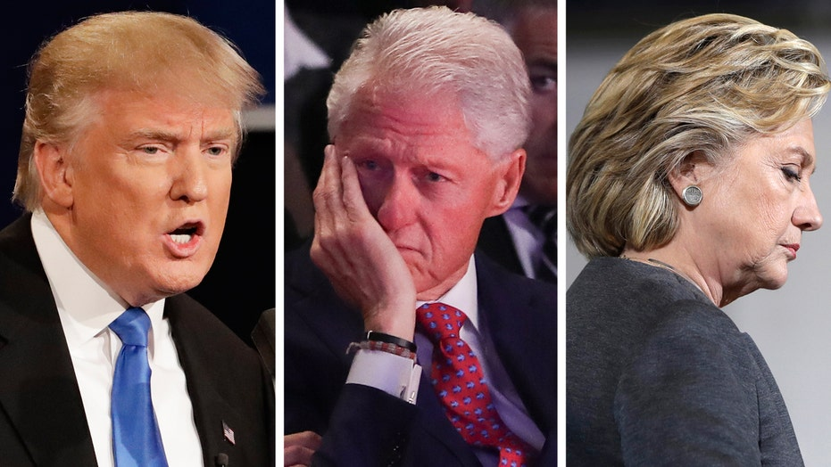 Trump campaign hits Hillary with Bill's affairs