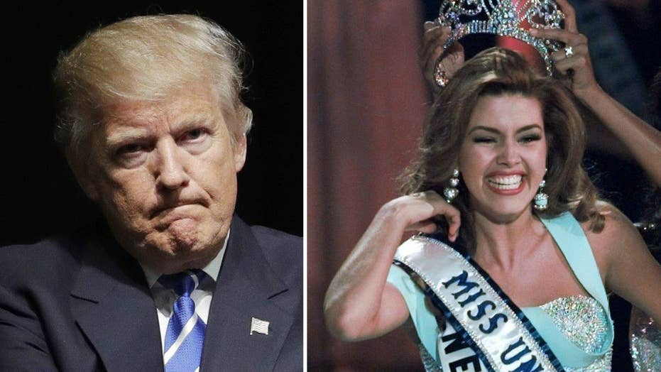 Halftime Report: Trump vs. Miss Universe