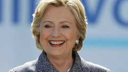 Hillary Clinton has gained ground on Donald Trump, who has slipped in key measures of the presidential race after the first debate.