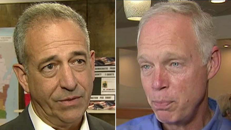 Johnson, Feingold battle for Senate seat in Wisconsin