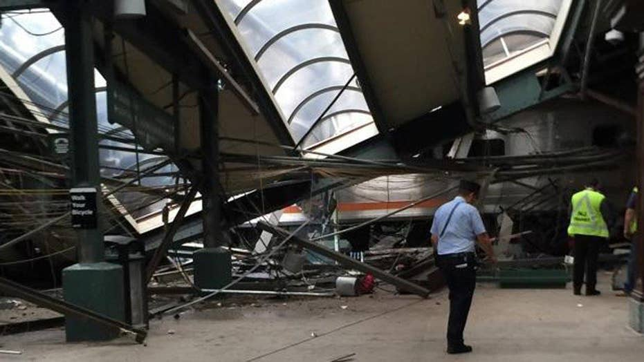 Debate over 'positive train control' amid NJ train crash