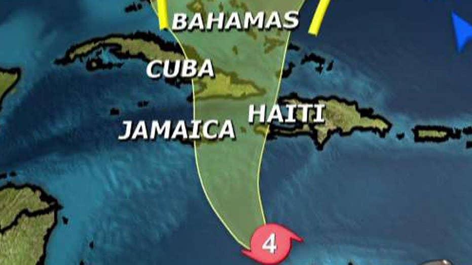 Hurricane Matthew poses serious risk for Haiti and Jamaica
