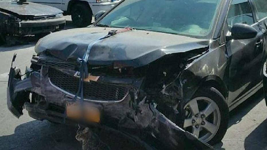 Police investigate whether high-speed crash was terror
