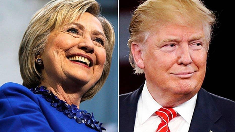 Trump hits Clinton marriage