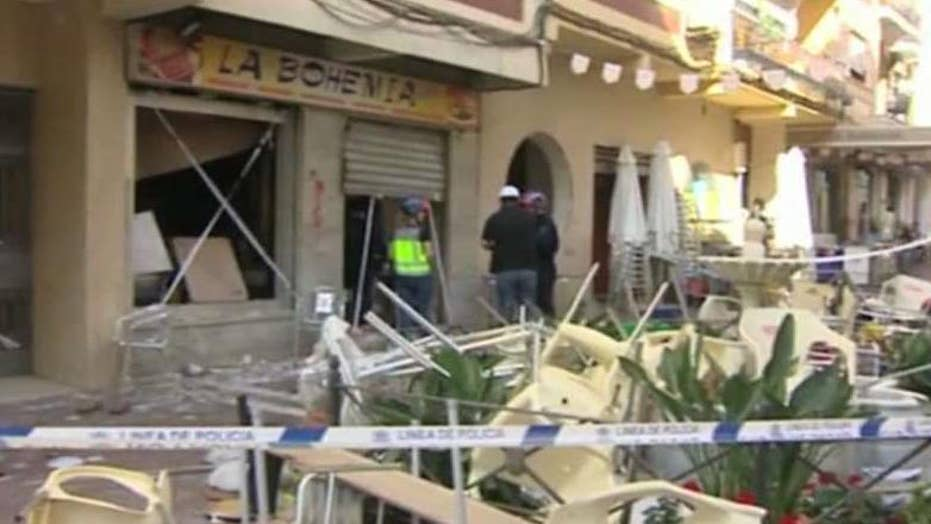Suspected gas explosion injures at least 90 at Spain cafe