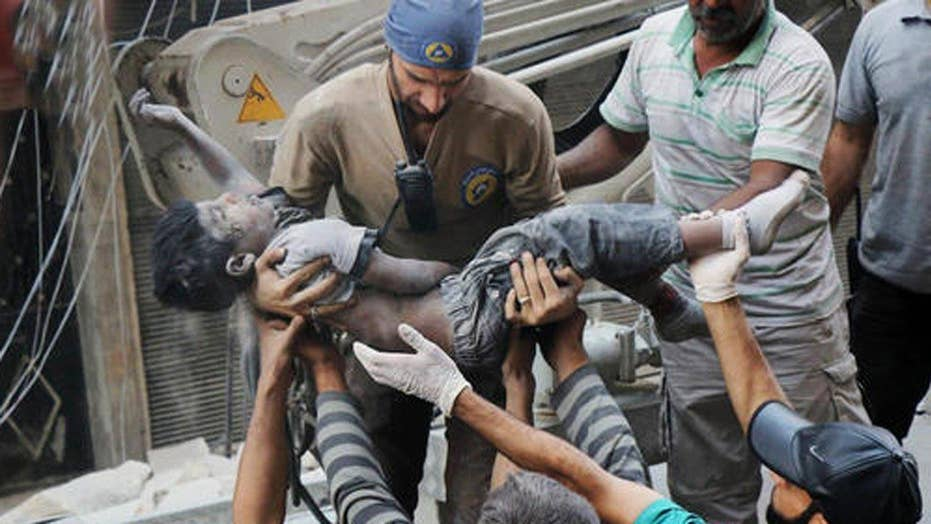 Eric Shawn reports: The horrors of Aleppo