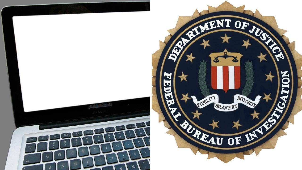 fbi destroys laptops