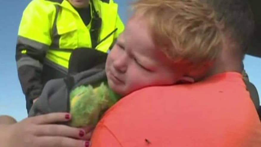 3-year-old was uninjured