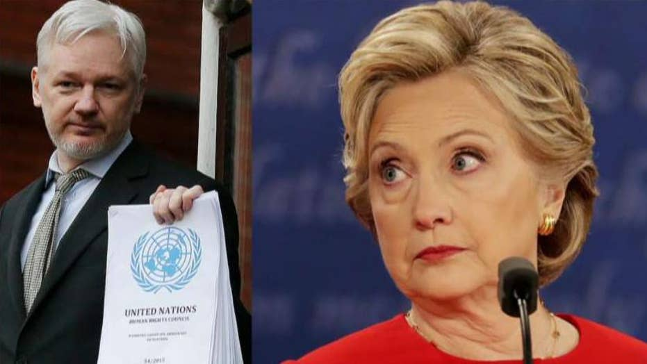 WikiLeaks to make video announcement on Clinton info