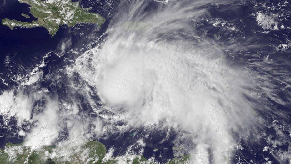 Hurricane Matthew bears down on Jamaica, Haiti