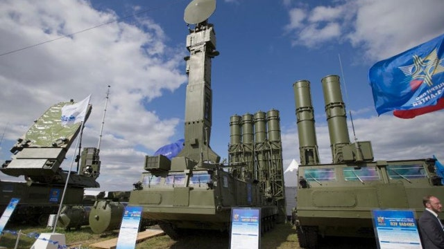Russia deploys missile defense system in Syria