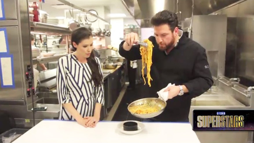 Kitchen Superstars: The Food Network star and celebrated restaurateur shares his secret for the perfect pasta dish that put him on the map