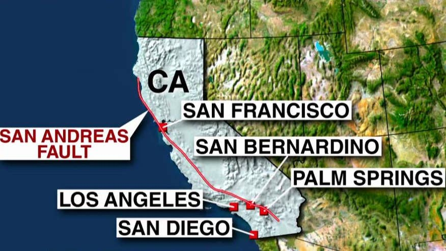 Seismologist explains alarm caused by activity from San Andreas fault line on 'Happening Now'