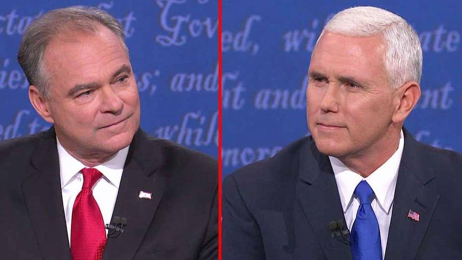 Kaine, Pence spar over Donald Trump's tax returns