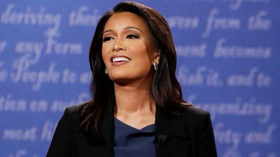 Did Elaine Quijano lose control of vice presidential debate?