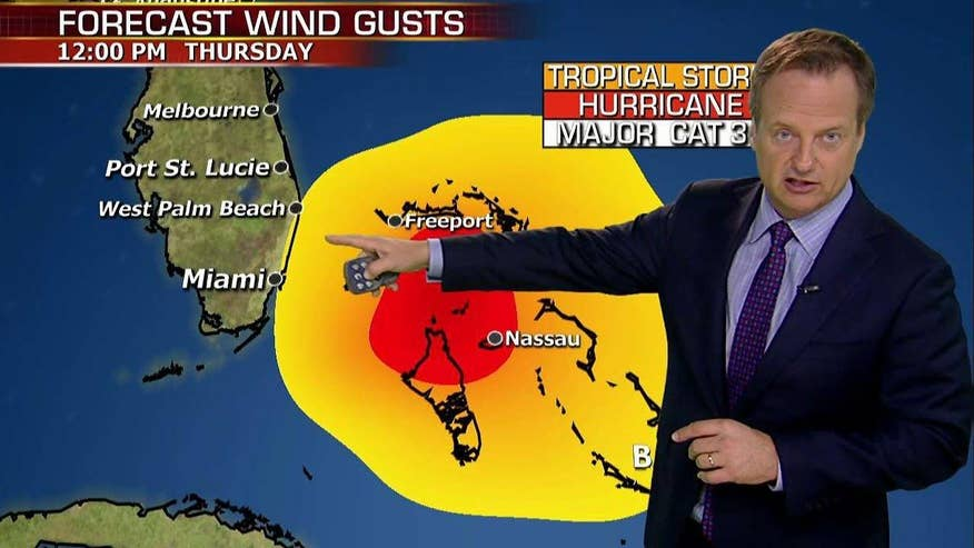 Fox News chief meteorologist Rick Reichmuth reports