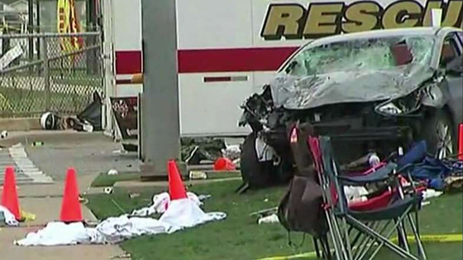 Driver charged in deadly parade crash wants trial moved