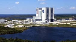 NASA is reporting limited initial damage to Kennedy Space Center from Hurricane Matthew, which brushed Cape Canaveral early Friday.