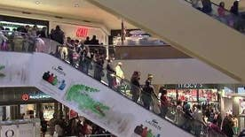 Mall tells employees to stay home and spend time with families