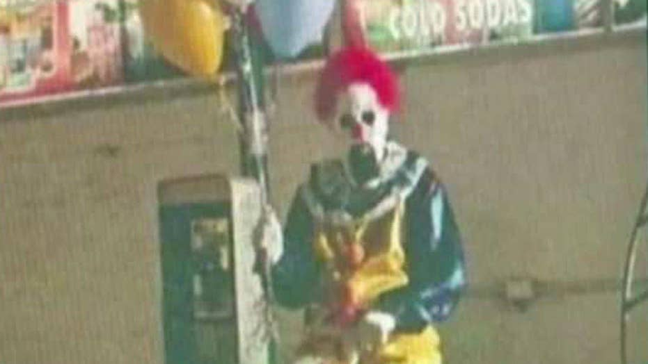 Are 'creepy clowns' a real cause for concern?