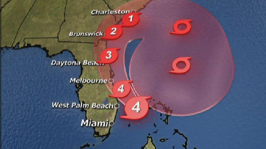 Hurricane Matthew nears Florida as category 4 storm