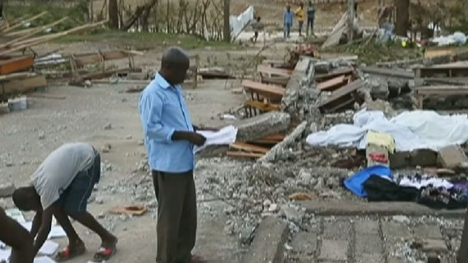 Death toll rises in Haiti after Hurricane Matthew