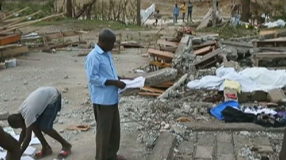 Death toll rises in Haiti after Hurricane Matthew