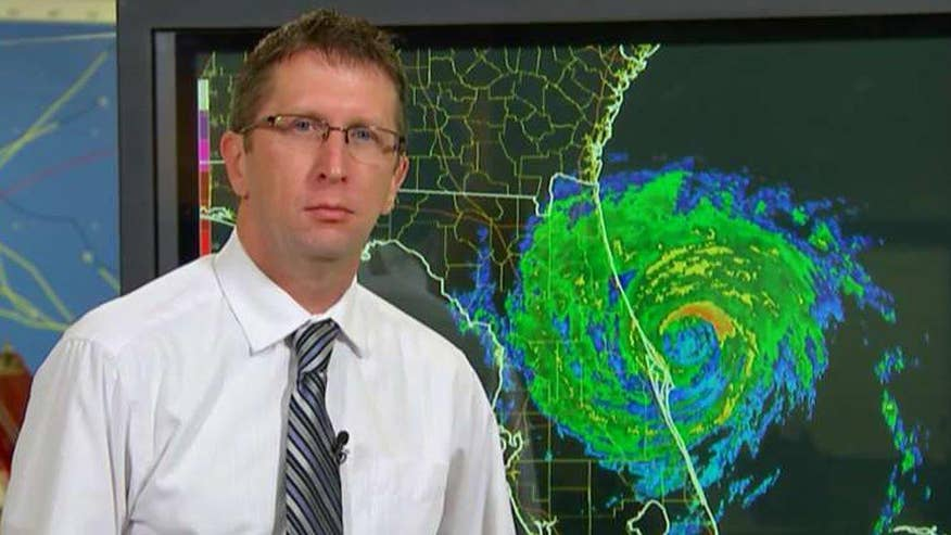 Dr. Rick Knabb breaks down areas at risk of flooding from Hurricane Matthew
