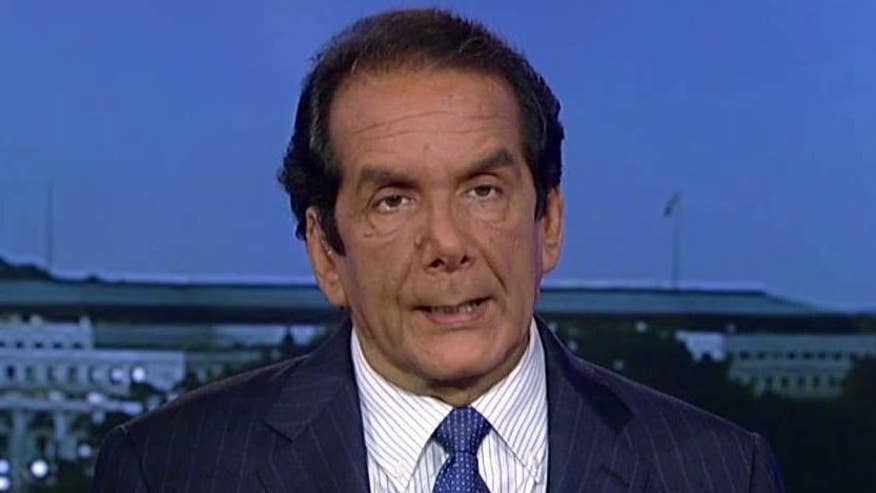 Charles Krauthammer said in the wake of a 2005 tape just released that shows Republican presidential nominee Donald Trump speaking freely and crudely about women and a new Clinton e-mail dump, both candidates are cast in a highly negative light.