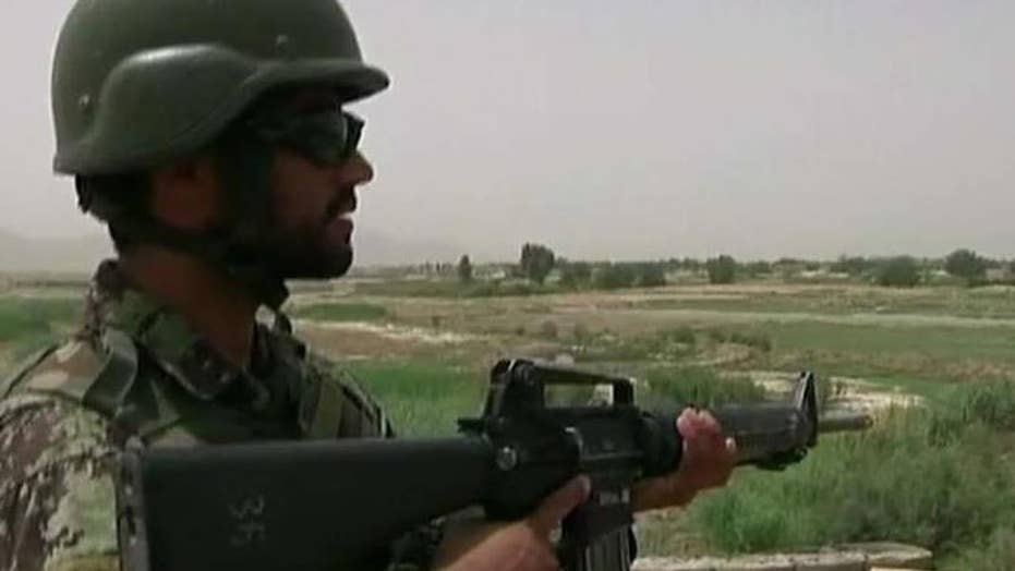 Dozens of Afghan troops training in the US go AWOL